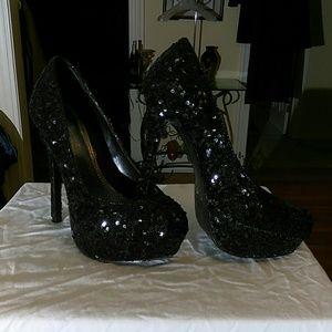 Bakers sequined heels
